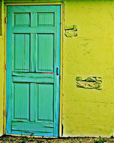 Color # door #Photography by Shea Beebe