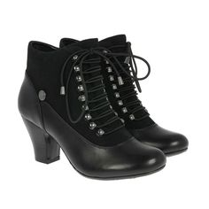 BRAND NEW GORGEOUS HUSH PUPPIES VICTORIAN ANKLE BOOTS