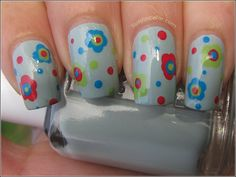 Flowers atop Essie's Who's The Boss