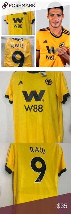 1ea3a371963 Raul Jimenez  9 2019 Wolverhampton New Jersey raul jimenez wolverhampton  jersey New with tags adidas