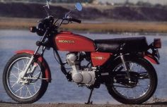 cb125t red - Google Search Honda Cb, Classic, Vehicles, Red, Motorcycles, Google Search, 1970s, Derby, Car