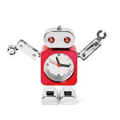 Dziwnie się o tym myśli, gdy ten robot budzi Cię do pracy, co? Nie zapomnij o baterii AA. A może powinieneś? #tigerstores #tigerpolska #tigerxmas #święta #ozdobyświąteczne #christmasinspiration #gift #prezent #zima #winter #grudzień #december #christmas #zegar #clock #watch #budzik #alarm