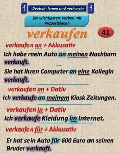 Duits - Deutsch - Kasus - naamval - Präposition- verkaufen- verkopen - voorzetsels