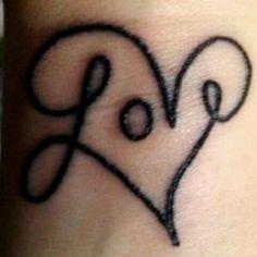 Girly tattoo