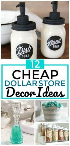 12 Cheap and Easy Dollar Store Decor Hacks That'll Make Your Home Look Amazing -. - 12 Cheap and Easy Dollar Store Decor Hacks That'll Make Your Home Look Amazing – DIY Home Decor - Dollar Store Crafts, Crafts To Sell, Dollar Stores, Diy And Crafts, Tree Crafts, Adult Crafts, Cute Dorm Rooms, Cool Rooms, Diy Halloween