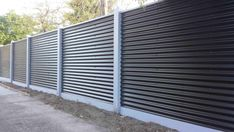 Corrugated Steel fencing 125x125 premioum cypress posts 160x25mm treated pine plinth Capping