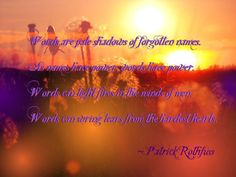 patrick rothfuss quote by zella-de-venus.deviantart.com on @deviantART