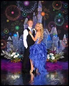 Disney theme for senior prom! Disney Prom, Walt Disney, Homecoming Themes, Dance Themes, After Prom, Prom Poses, Prom Decor, Prom 2015, Dream Prom