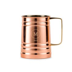 Moscow Mule Stein - Circle Initial Monogram Our Moscow Mule Steins are great…