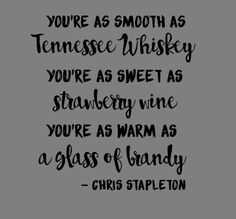 chris stapleton lyrics Tumblr