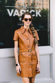 ¿Quién dijo que el cuero era solo para las casacas? .. Un look tierra felino para conquistar tu semana #thestyleintitute #outfit
