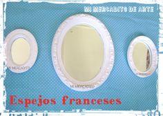ESPEJOS FRANCESES - ESPEJO OVAL FRANCES - ESPEJOS ... www.mimercaditoventas.blogspot.com