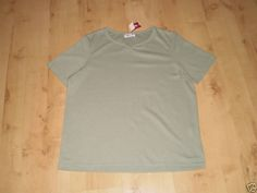 Green V Neck Top by Bonmarche, Size 12 (New with tags)