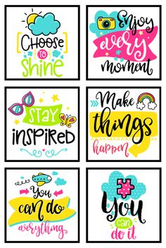 35 Inspirational Classroom Posters