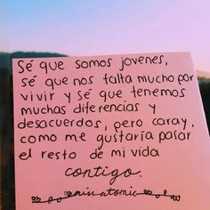 66 Ideas For Quotes Inspirational Love Relationships Words Amor Quotes, Tumblr Quotes, Love Quotes, Photo Quotes, Love Phrases, Love You, My Love, More Than Words, Spanish Quotes