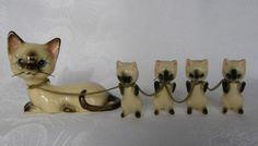 Vintage Cat Figurines