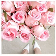 Stunning faux roses from Composition Lane