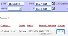 Here is my Withdrawal Proof from AdClickXpress. I get paid daily and I can withdraw daily. Online income is possible with ACX, who is definitely paying - no scam here. I WORK FROM HOME less than 10 minutes and I manage to cover my LOW SALARY INCOME. If you are a PASSIVE INCOME SEEKER, then AdClickXpress (Ad Click Xpress) is the best ONLINE OPPORTUNITY for you.