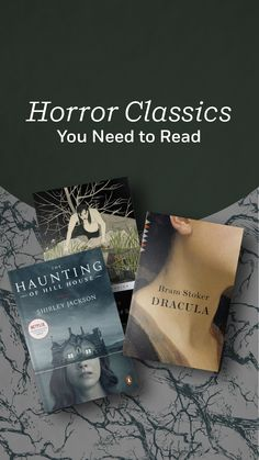 This list of spine-tingling books includes modern and time-honored horror classics by Clive Barker, Shirley Jackson, Dean Koontz, Anne Rice, Mary Shelley, Bram Stoker, and more. Read them, if you dare... Book List Must Read, Book Lists, Books To Read For Women, Read Books, Classics To Read, Shirley Jackson, Dean Koontz, Vampire Books, Life Changing Books