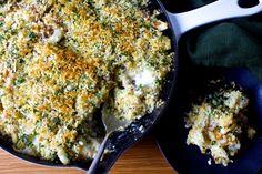Crusty Baked Cauliflower and Farro