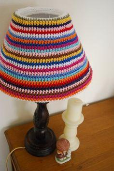 Cozies on my lamp!!!