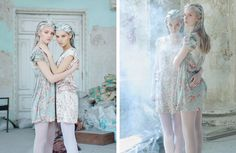 """Milk and Honey"" Photographed by Yulia Zhdan   Papercut Magazine"