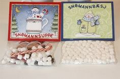 Tusen Ting: Snømannsuppe og snømannbæsj:)