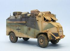 Panzerserra Bunker- Military Scale Models in 1/35 scale: AEC Dorchester - Armoured Command Vehicle - Moritz and long nose version