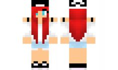 minecraft skin Cute-girl Check out our YouTube : https://www.youtube.com/user/sexypurpleunicorn