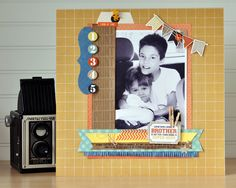 Jen Gallacher: Memories Made #6: Super Hero Brother (Manual Die Cuts)