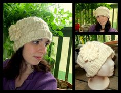 Loom Knit - Ear Warmer Headband - I might just make it into a hat instead...