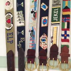Needlepoint - Belts