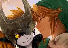 The Legend of Zelda: Twilight Princess, Link and Midna