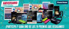 Participa en el sorteo #19Años19Premios de @PhoneHouse_ES, ¡hay más de 30 regalos en juego! https://premium.easypromosapp.com/p/311397?uid=625367443&lc=spa