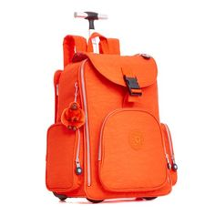 Alcatraz II Laptop Backpack - Imperial Orange | Kipling