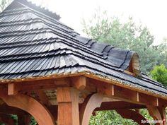Altana Ogrodowa PREMIUM - Altanka UNIKALNY WZÓR Gont Kraków - Sprzedajemy.pl Gazebo, Pergola, Outdoor Structures, Kiosk, Outdoor Pergola, Arbors, Pergolas