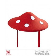 #Mushroom hat felt for games console fancy #dress #accessory,  View more on the LINK: 	http://www.zeppy.io/product/gb/2/301716767320/