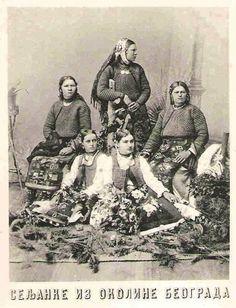 Serbian folk costimes.Србска ношња