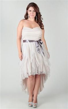 Wedding Dresses for Curvy Brides from Kiyonna.com