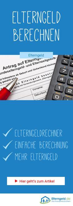 Elterngeldrechner: Berechne jetzt deinen Elterngeldanspruch und erfahre, wie du mehr Elterngeld erhalten kannst! #elterngeld