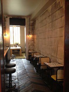 PAN restaurant rue martel, Paris.