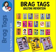 Character Education, Physical Education, Brag Tags, Think Before You Speak, Bullying Prevention, Good Student, Plastic Card, Student Motivation, Playgrounds