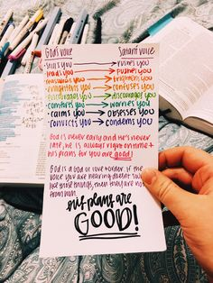 God is a God of love. His plans are GOOD! Faith quotes l Hope quotes l Christian Quotes l Christian Sayings Bible Verses Quotes, Jesus Quotes, Faith Quotes, Bible Scriptures, Hope Quotes, Mommy Quotes, Wisdom Quotes, Qoutes, Bible Study Notebook