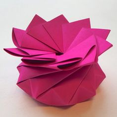 Origami Quasi Crystalline Tato Gift Box - Fuchsia Favor Boxes, Gift Boxes, Origami Gift Box, Christmas Origami, Little Boxes, Wedding Favours, Small Gifts, Favors, Prints