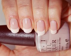Always classy and feminine...real, natural nails are for a lady.  So much better than those tacky, squared-off, gel claws!