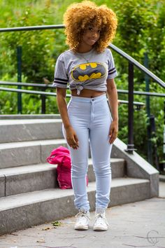 fashion | street style inspiration | spring summer outfit | natural hair | black girl stylin