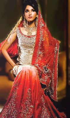 BW8262 Champagne & Red Lehenga Champagne Red Kohana Bridal Dress Show in Chicago, IL, Pakistani Wedding Dresses in Chicago, Women Dresses, Bridal Wear