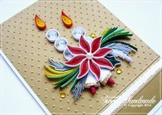 Christmas Quilling Card http://sweetiehandmade.blogspot.ro/
