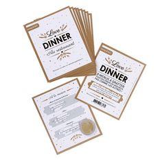 aiRendez vos diners en amoureux plus amusants avec ces cartes à gratter qui donnent à chaque moment de votre repas la petite touche coquine ou romantique en plus ! Une création Roxane G pour Passage du désir.