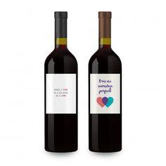 Pack de Vino Personalizado diseñado para Sonreír :)